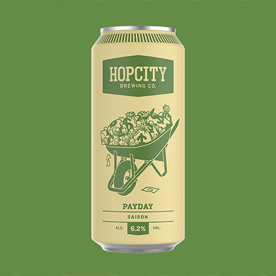 Hop City Payday Saison Beer